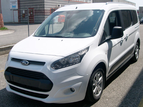 ford connect ribassato disabili