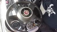 Fiat 500 lounge – centralina al volante per disabili