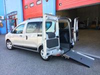 Dacia Dokker con abbassamento pianale e gomme invernali in OMAGGIO
