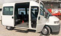 Fiat Ducato 9 posti con pedana disabili elettroidraulica