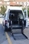 Fiat Scudo co sollevatore per carrozzina