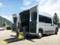 Citroen Jumper per trasporto collettivo disabili in carrozzina